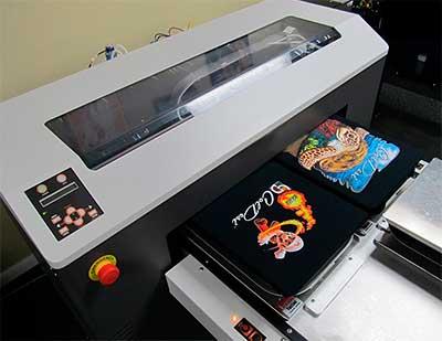 Прямая печать по текстилю
