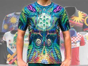 Сублимация на футболках