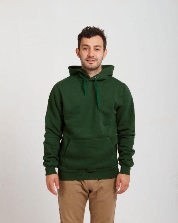 Худи Премиум цвет темно-зеленый
