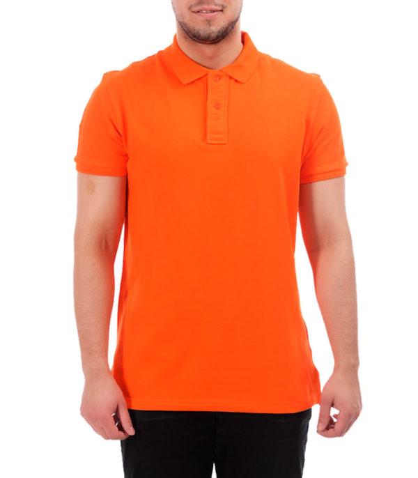 Поло классик, цвет оранжевый