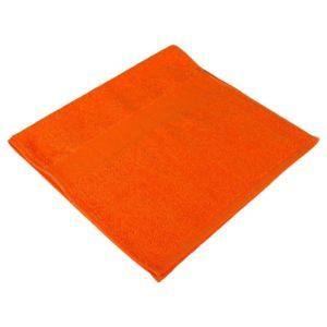 Полотенце махровое 40*70, цвет оранжевый