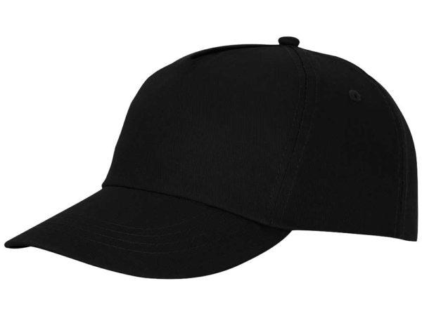 Бейсболка полувелюр цвет черный