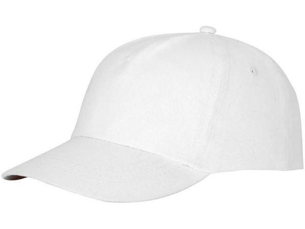 Бейсболка полувелюр цвет белый