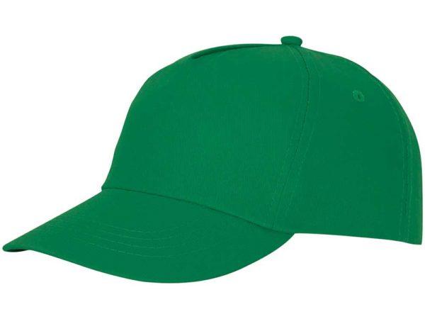 Бейсболка полувелюр цвет зеленый