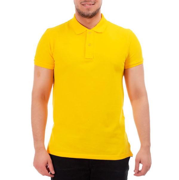 Поло классик, цвет желтый